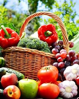 Отдел фрукты овощи бакалея гастронома Курский