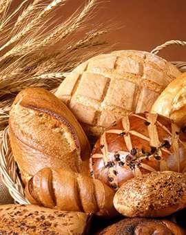 Отдел хлеб крупы макароны гастронома Курский