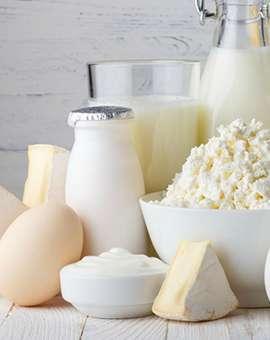 Отдел сыры и молочные продукты