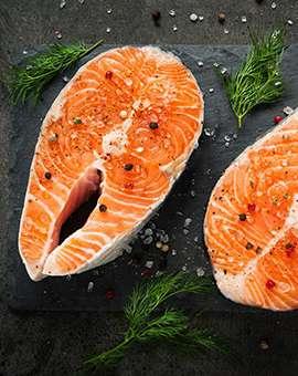 Отдел рыба и морепродукты