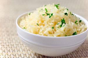 Белый рис полезен для здоровья